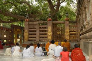 ブッダガヤの大菩提寺(インド)