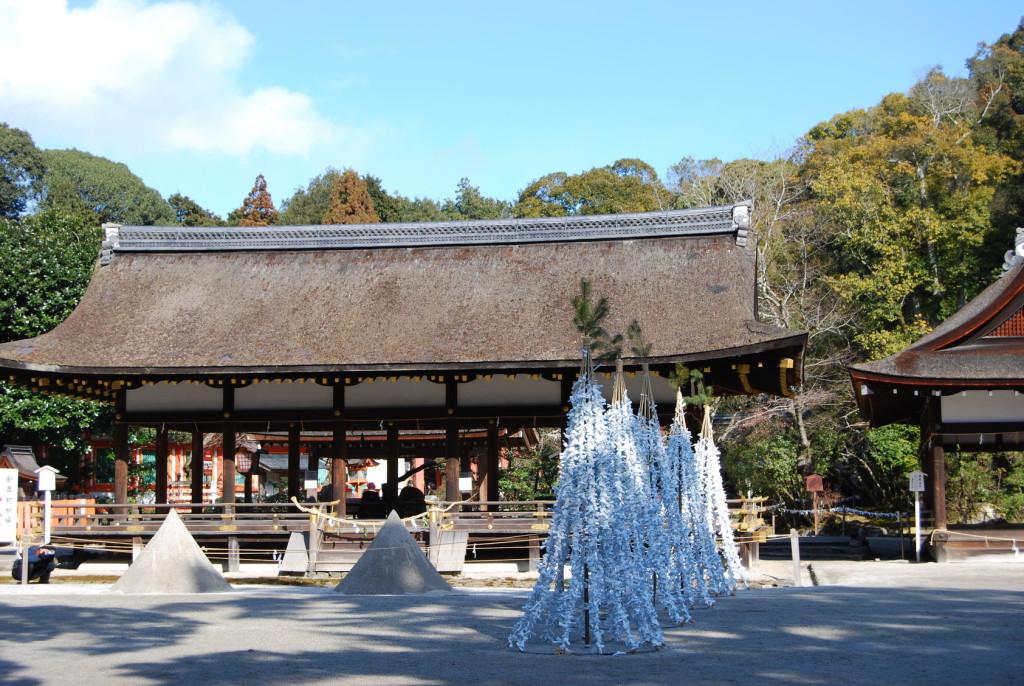 京都・上賀茂神社・境内