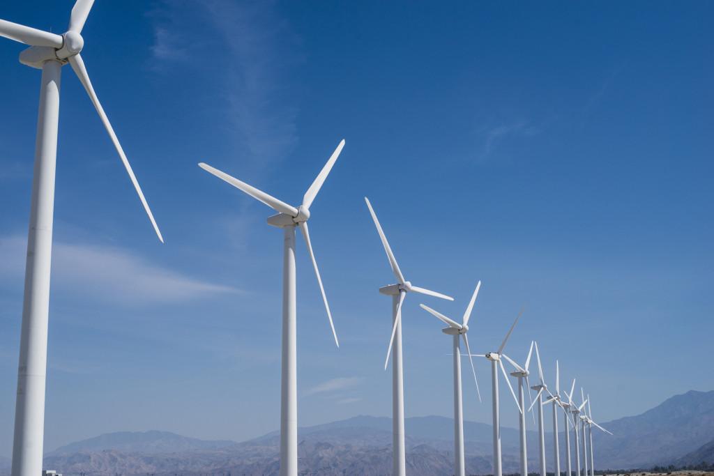 Wind electricity