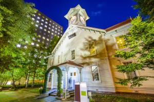 Sapporo Clock Tower in Sapporo, Japan