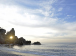能登曽々木海岸の窓岩