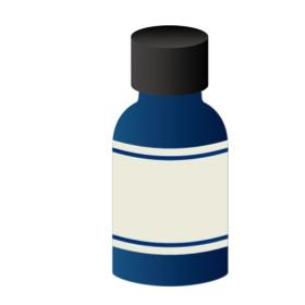 アロマ瓶のイラスト