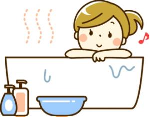 入浴のイラスト