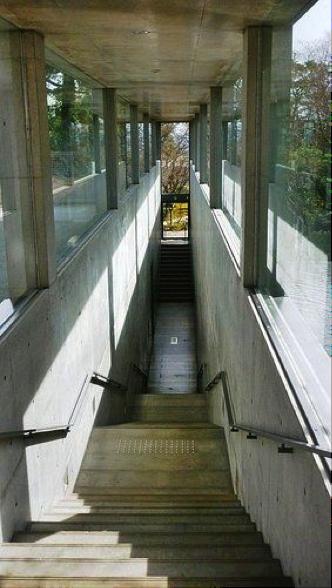 大山崎美術館の館内