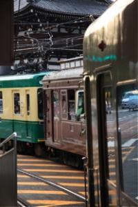 京都の電車