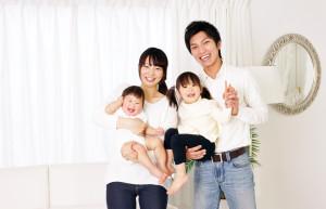 育児をする家庭