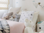 girl bedroom with doll