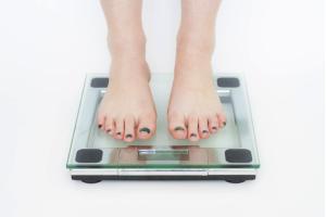 体重を計る