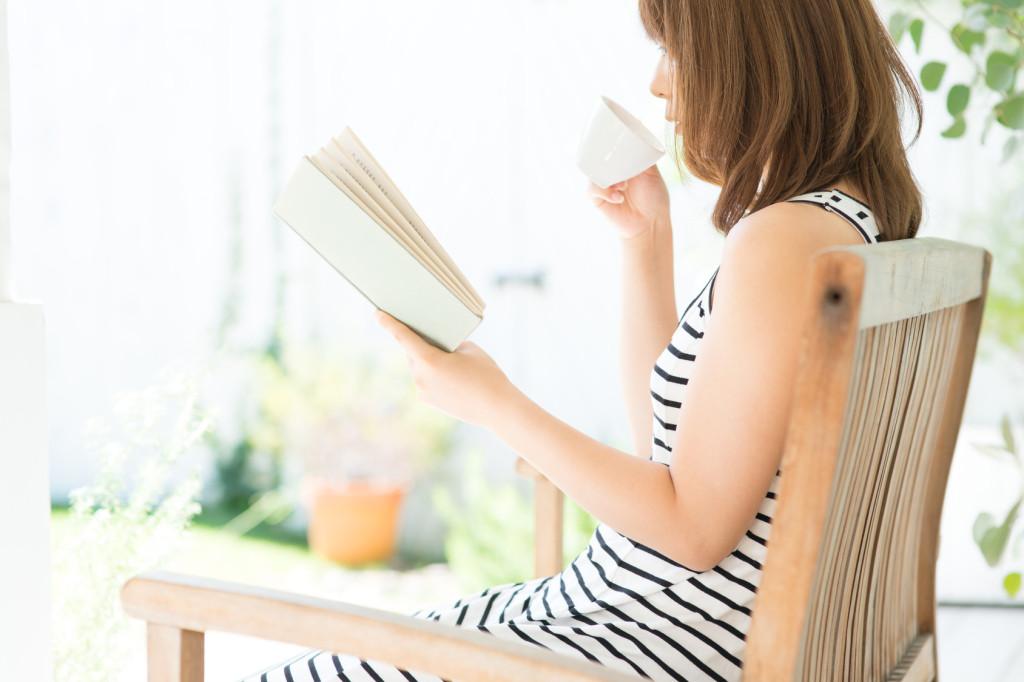 カフェしながら読書