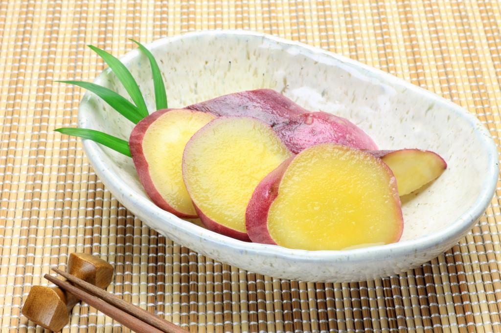サツマイモの甘露煮