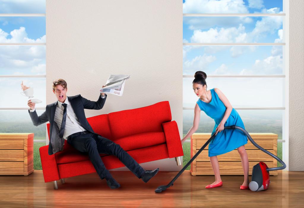 女性の家事労働