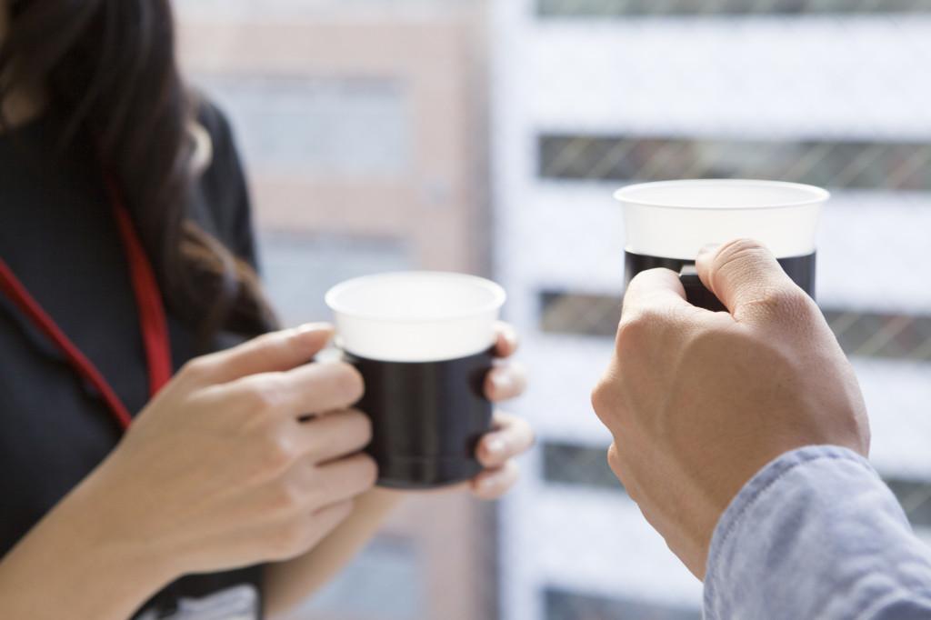 お茶でコミニュケーション