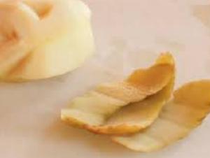 ジャガイモの皮