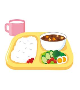 バランスの良い食事のイラスト
