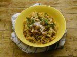 Tagliatelle ai porcini Cucina italiana Italian cuisine