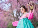Hanbok: the traditional Korean dress beautiful Asian girl