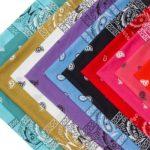 colorful bandana isolated